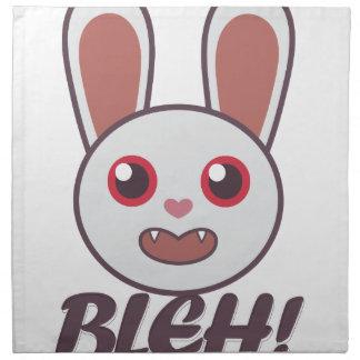 Bleh Rabbit Napkins