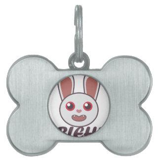 Bleh Rabbit Pet Name Tags