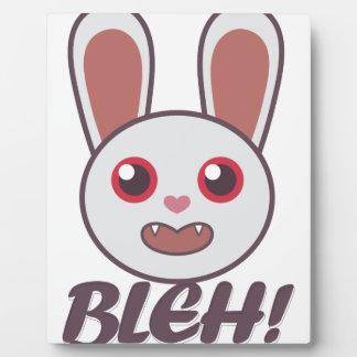 Bleh Rabbit Plaque