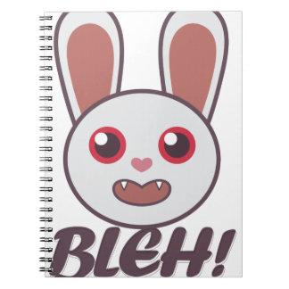 Bleh Rabbit Spiral Note Books