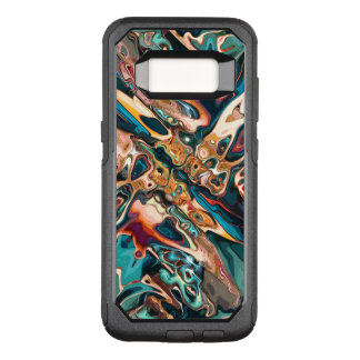Blended Abstract Shapes OtterBox Commuter Samsung Galaxy S8 Case