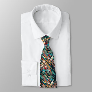 Blended Abstract Shapes Tie