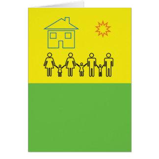 Blended Family Celebration Card
