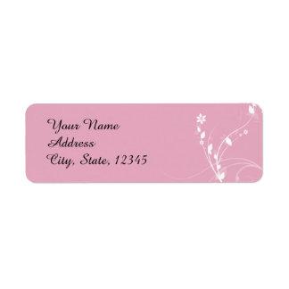 Blended Family Wedding Return Address Label