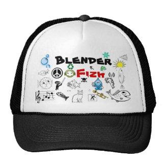 Blender Fizh Hat