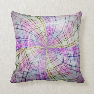 Blending Colors Throw Pillow