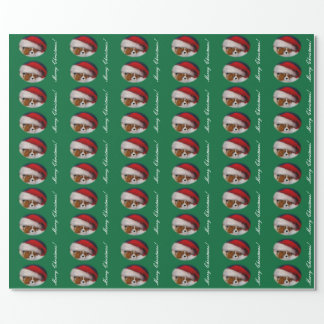 Blenheim Cavalier Christmas wrapping paper