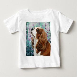 Blenheim Cavalier King Charles Spaniel Baby T-Shirt