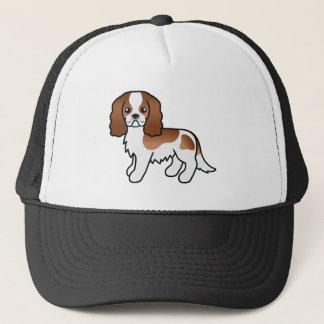 Blenheim Cavalier King Charles Spaniel Dog Trucker Hat