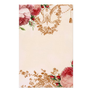 Blenheim Rose - Petal Pink - Personal Stationery Paper