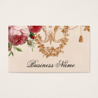 Blenheim Rose , pink petal Business Card