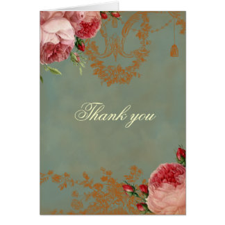 Blenheim Rose Thank you Card