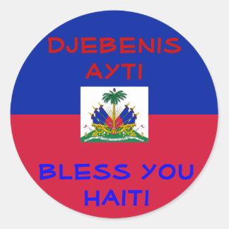 Bless Haiti stickers
