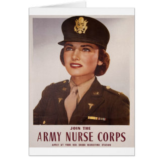 Bless Our Female Military Greeting Card