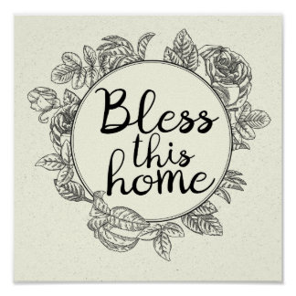 Bless This Home Art Print