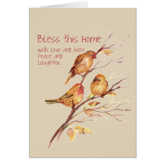Bless this Home Congratulations on New Home Card