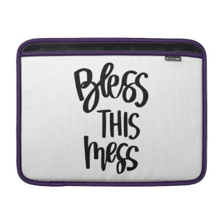 Bless This Mess Macbook Air Laptop Sleeve
