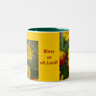Bless Us Oh, Lord Mug