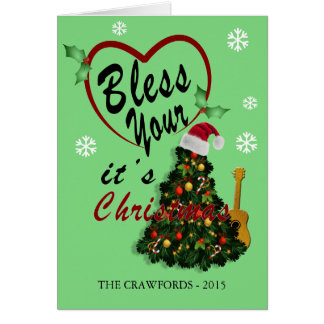 Bless Your Heart Nashville Greeting Card