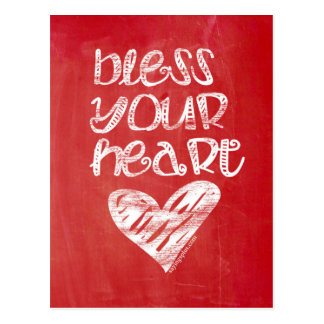 Bless Your Heart Postcard