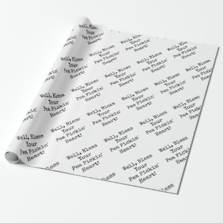 Bless Your Pea Pickin' Heart! Wrapping Paper