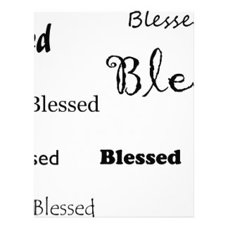 Blessed11 Letterhead
