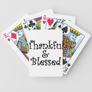 Blessed4 Bicycle Playing Cards