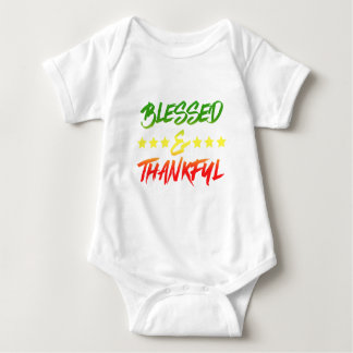 Blessed and Thankful Baby Bodysuit