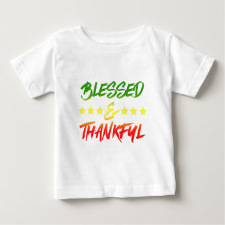 Blessed and Thankful Baby T-Shirt