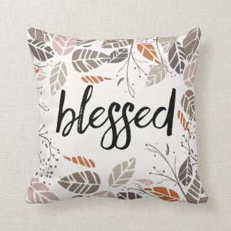 Blessed and Thankful Pillow