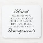 Blessed Are... Grandparents Mouse Pads