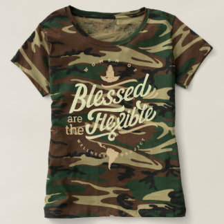 Blessed are the Flexible Camouflage T T-shirt