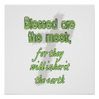 Blessed Are The Meek Poster