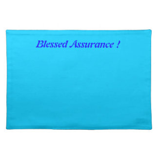 Blessed Assurance  American MoJo Placemats
