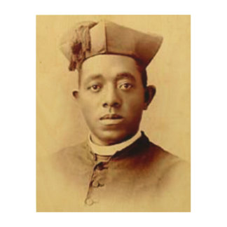 Blessed Augustus Tolton Wood Canvas