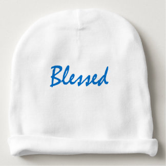 Blessed Baby Beanie FOR BOY