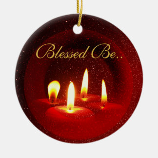 Blessed Be... Ceramic Ornament