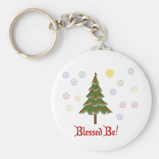 Blessed Be Keychains