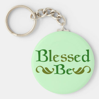 Blessed Be Keychain