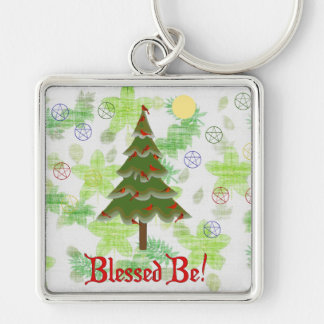 Blessed Be Key Chain