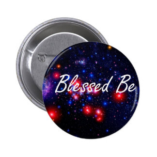 Blessed Be saying against dark space image Pin
