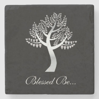 Blessed Be... Stone Coaster