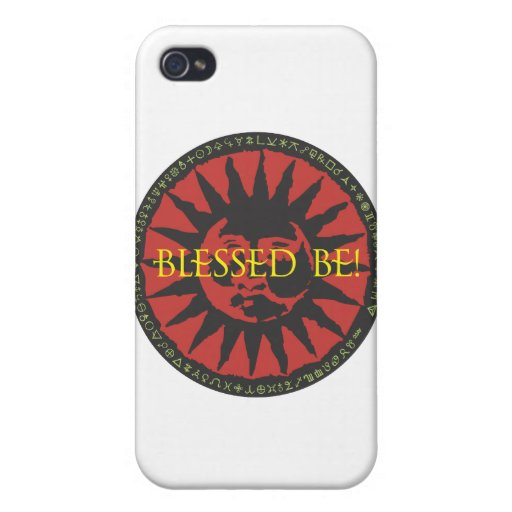 Blessed Be Sun iPhone 4/4S Cover