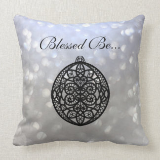 Blessed Be... Throw Pillow