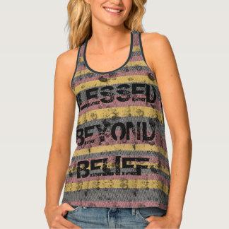 Blessed Beyond Belief Tank Top