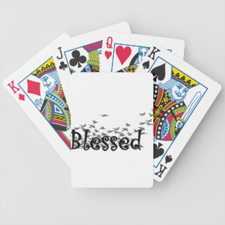 Blessed Bicycle Playing Cards