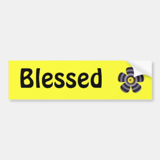 Blessed Bumper Sticker