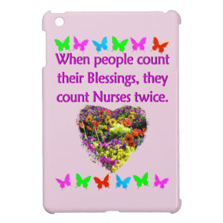 BLESSED BY A NURSE COVER FOR THE iPad MINI