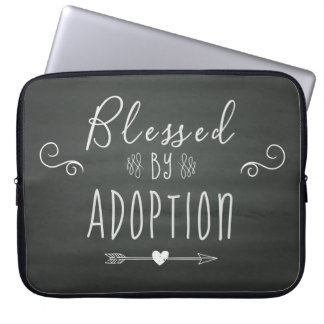 Blessed by Adoption - Foster Care, Adopt Gift Laptop Sleeve