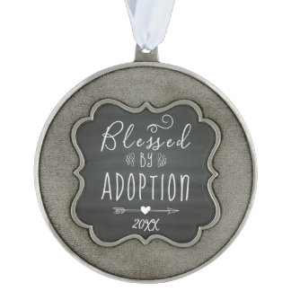 Blessed by Adoption - Foster Care, Adopt Gift Ornament